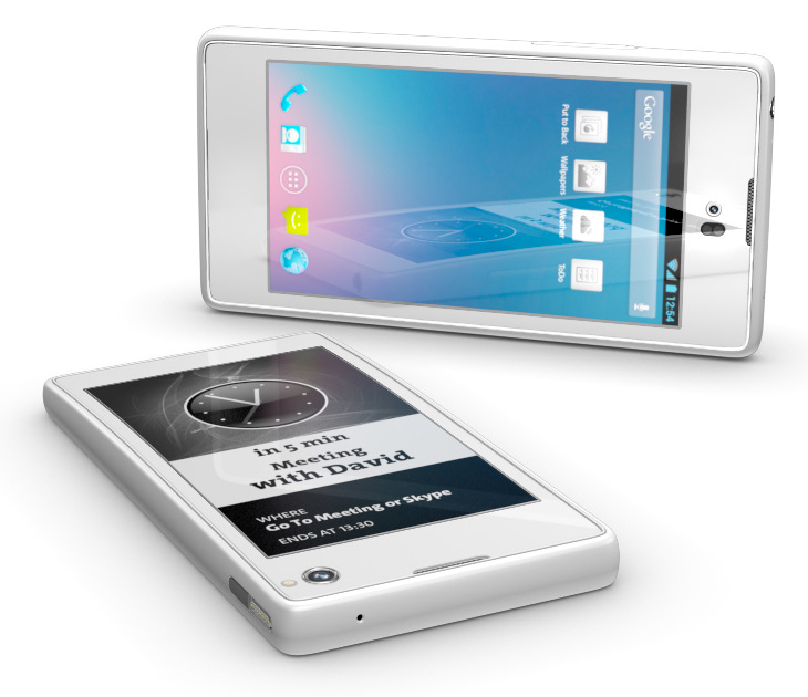 Yotaphone eInk smartphone launched