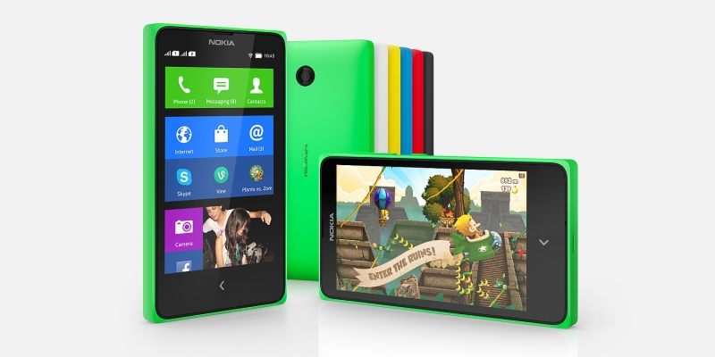 The Nokia X W89 and X+ W99 smartphones