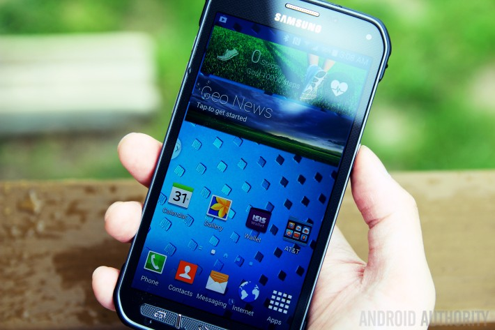 Samsung Galaxy S5 Active is available now