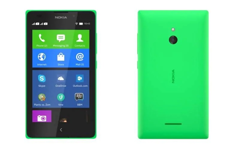the third Android-powered smartphone Nokia XL