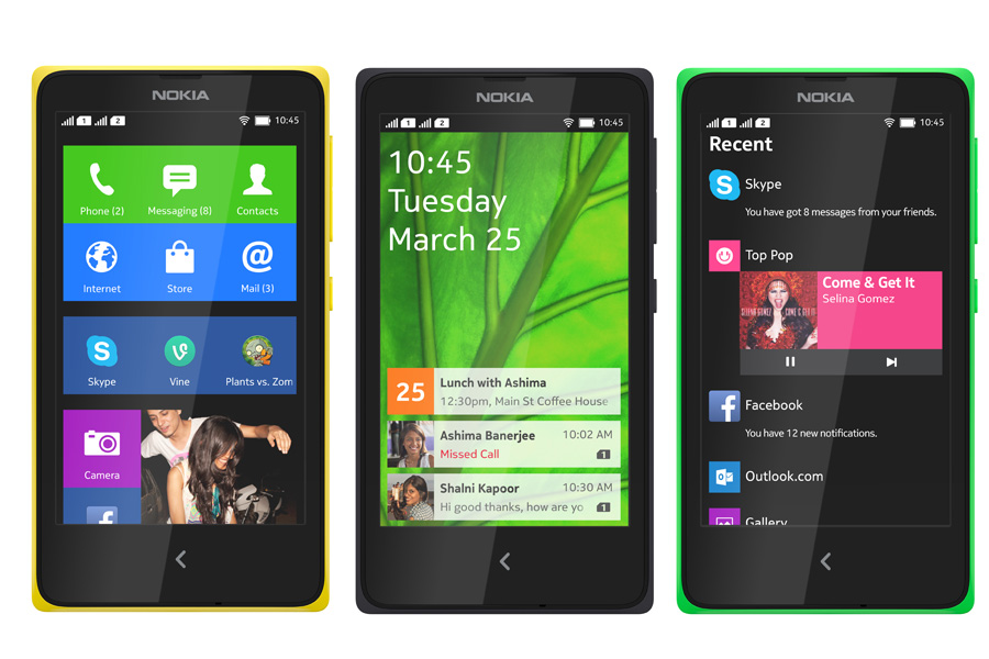 Nokia X and X+