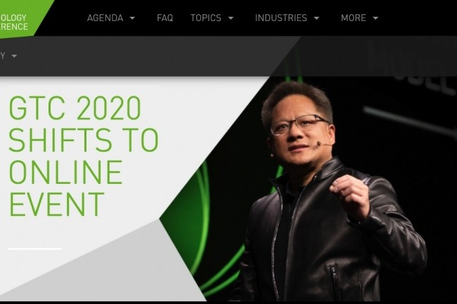 The GTC 2020 Nvidia switches to virtual mode