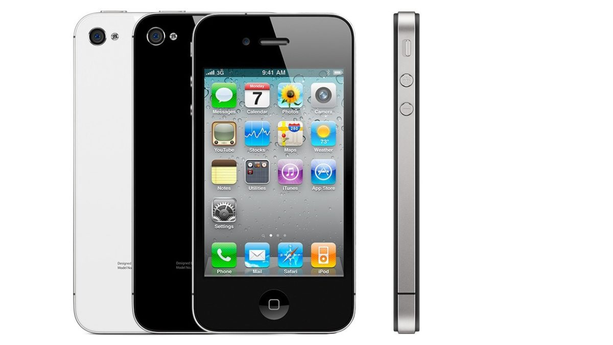 You are using an iPhone 4 ? For Apple, it is now obsolete