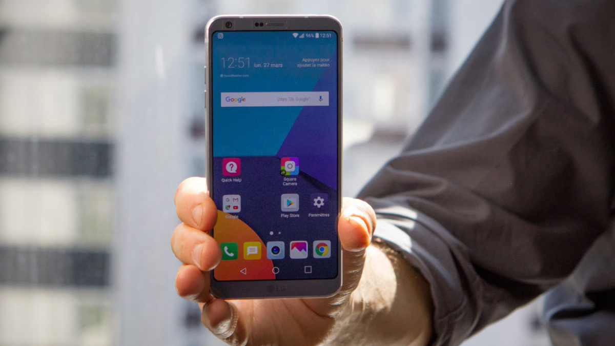 The LG G6, the new smartphone champion of the photo
