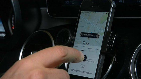 Uber continues to geolocate their customers after their trip