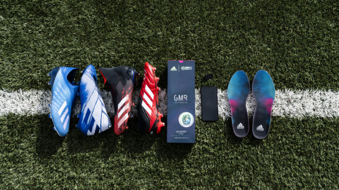 Adidas GMR: Google and EA Sports, the brand with three bands creates a pair of connected soles for football