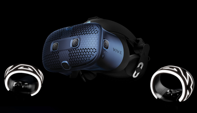 The HTC Vive Cosmos VR headset
