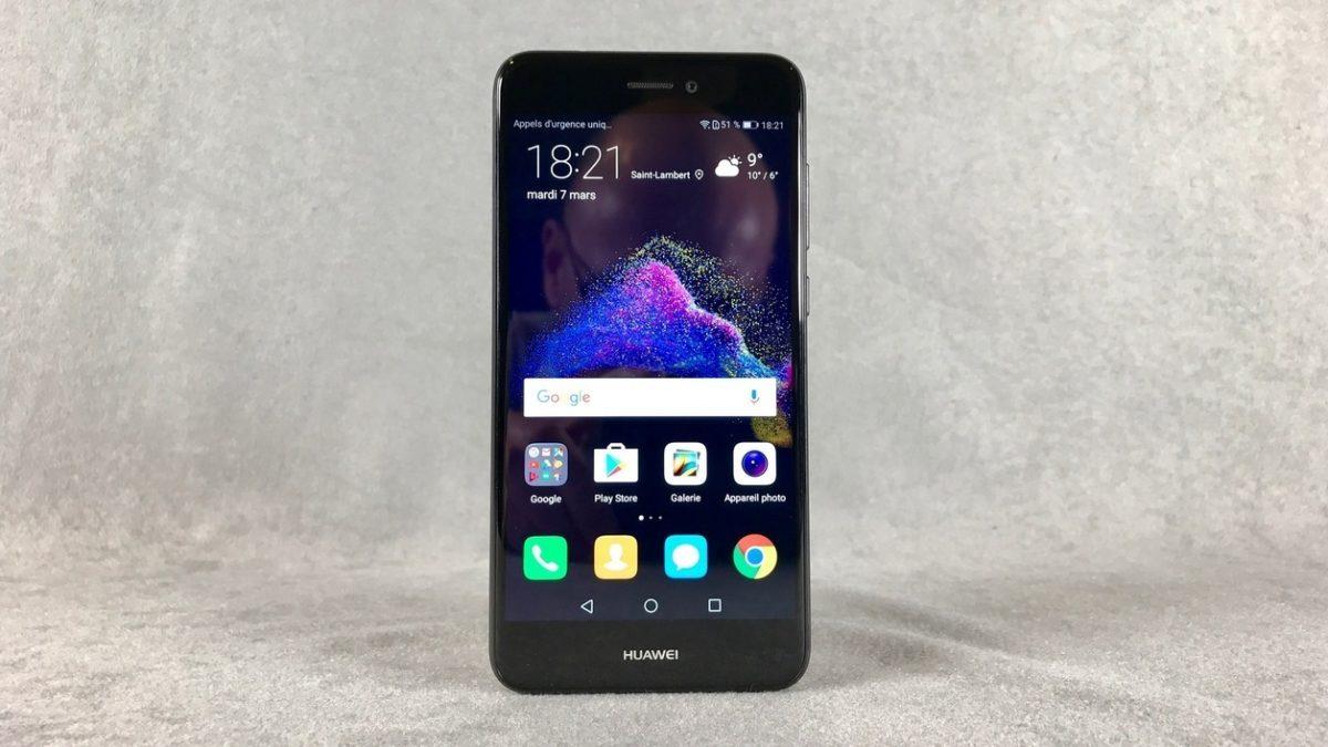 The smartphone Huawei P8 Lite 2017