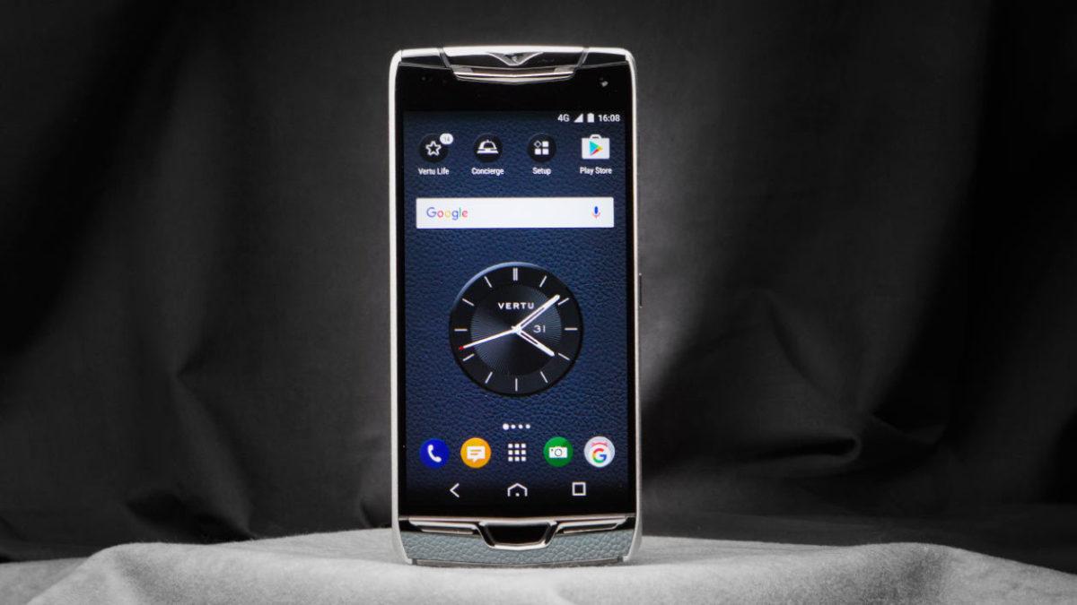 Vertu Constellation, the smartphone that was worth 4000 euros