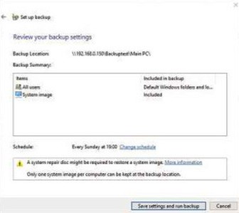 Windows has a free backup tool that you can use