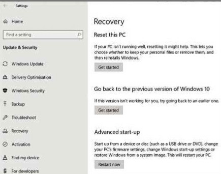 Windows has a built-in tool to refresh your computer back to factory settings