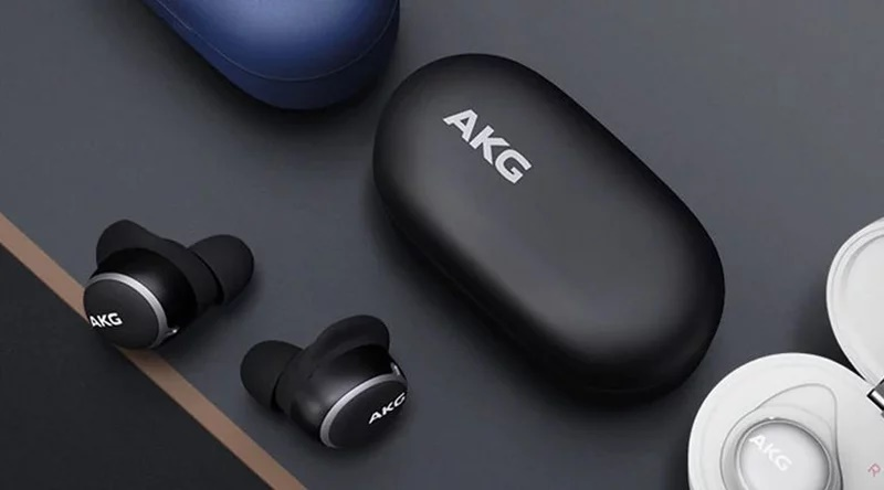 the AKG N400:Wireless headphones with active noise reduction