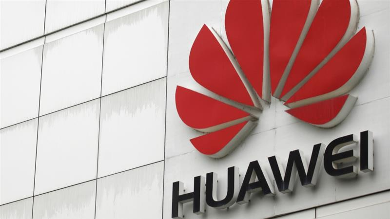 To 122.9 billion usd of revenues for Huawei in 2019