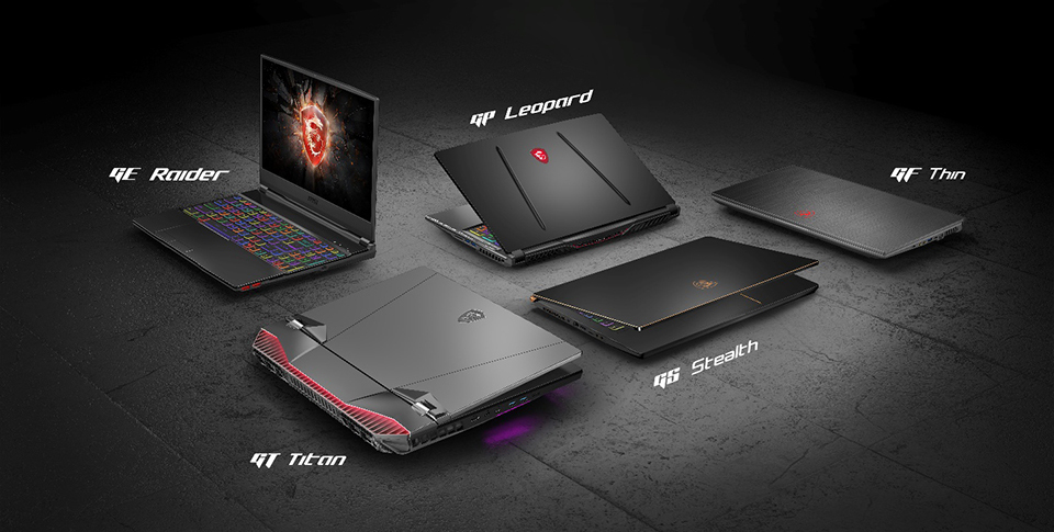 MSI : the new portable PC gaming which adopt the latest technologies Intel and Nvidia