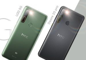 HTC Desire 20 Pro and HTC U20 5G