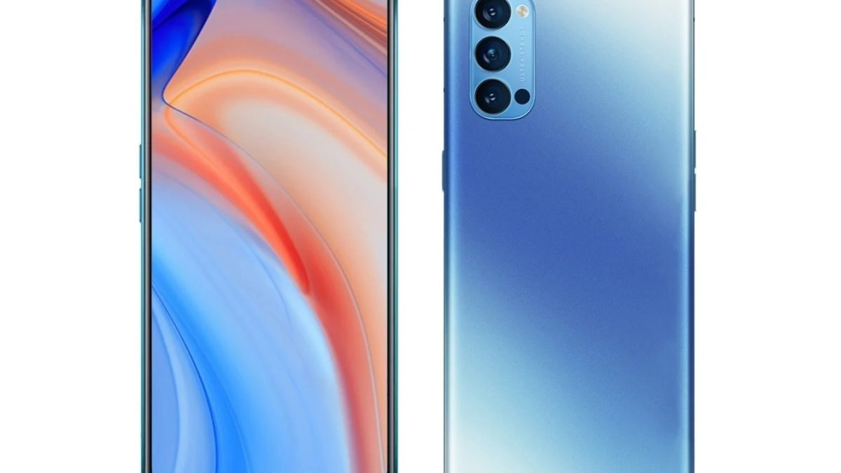 OPPO Reno4 render leaked before launch, Reno 4 Pro specifications also revealed