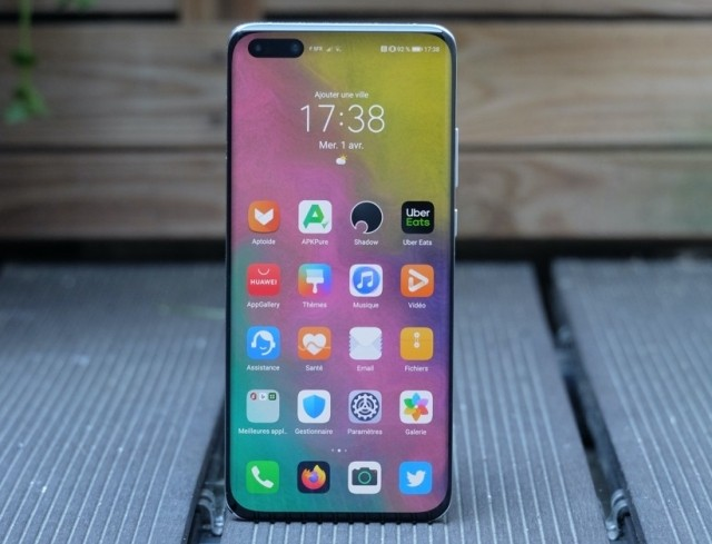 Huawei P40 Pro: confined, but without Google